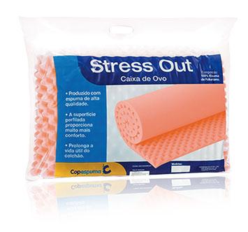 Forração Ortopédica Stress Out - Caixa de Ovo