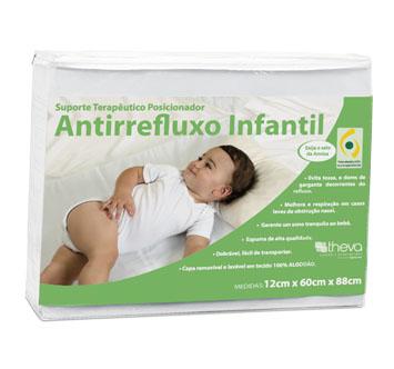 Suporte terapêutico antirrefluxo infantil
