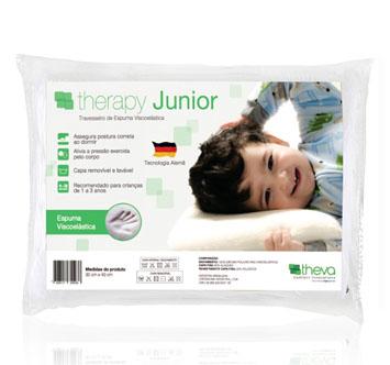 Travesseiro de Espuma Viscoelástica - Therapy Junior