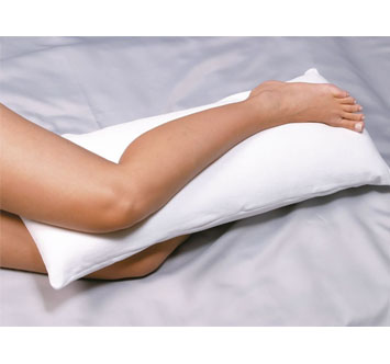 Travesseiro joelho e tornozelo